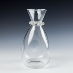 James Powell & Sons - Whitefriars  Bottle Carafe -c1910
