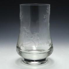 Signed Dennis Mann Caithness Glass Vase 1973