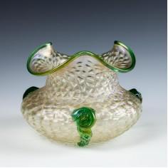 Kralik Martele Glass Bowl  c1930