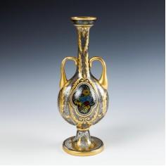 A Julius Mühlhaus & Co. Haida Quatrefoil Bottle Vase 1915-20