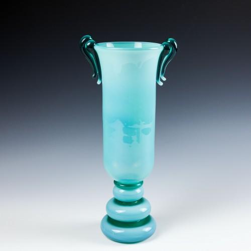 A Kralik Opalescent  Art Deco Vase c1930