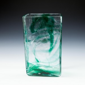 Rare Form Whitefriars Streaky Vase By Geoffrey Baxter 1971-73