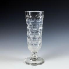 Giant Lens Cut Sunderland Ale Glass c1865