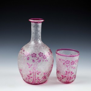 """A Baccarat Cameo """"Tumble Up"""" c1900"""