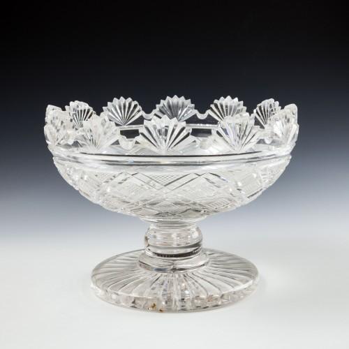 A Fine Quality Regency Fan Cut Bowl c1830