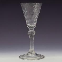 An 18th Century Wine Glass Liege c1730