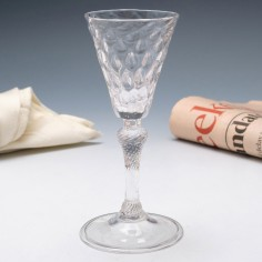 An 18th Century Wine Glass Liege c1730