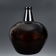 Handblown Carboy Cylinder Bottle c.1780