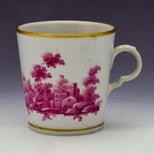 A Ginori Doccia Coffee Cup  c1770