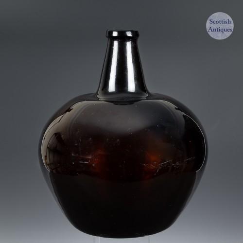 Handblown Carboy Cylinder Bottle c.1780