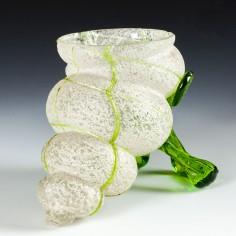 Kralik Art Nouveau Shell  Vase c1900