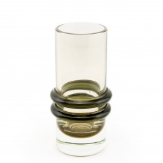 Caithness Ring Vase Designed by Domahall O'Broin c1965