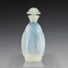 A Waltersperger Opalescent Glass Perfume Bottle Art deco