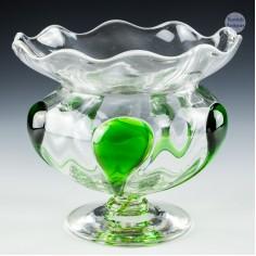 Stuart and Sons Art Nouveau Glass Vase c1910