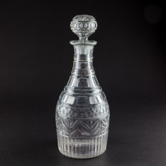 George IV Cut Glass Decanter c1825 Ex-McConnell