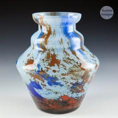 An Antonin Ruckl & Sons Glass Vase c1930