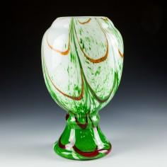 A Large Wilhelm Kralik Sohne Vase c1930