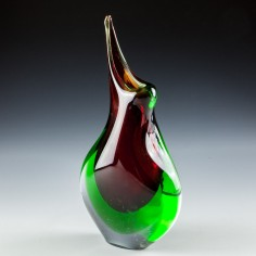 Murano Sommerso Vase c1980