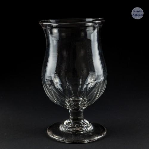 An Early Petal Moulded Celery Vase c1830
