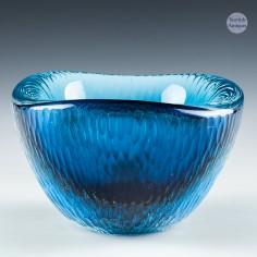 A Rare Orrefors Sven Palmqvist Designed Cut Glass Selena Bowl PA 3111 c1960