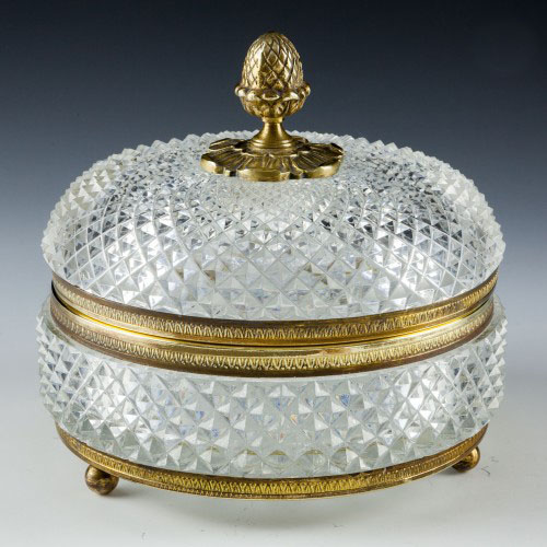 French Empire Style Table Box c1900