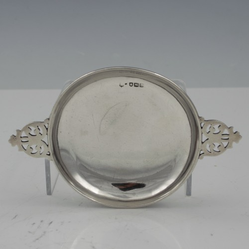 Antique Sterling Silver Scottish Quaich 1897
