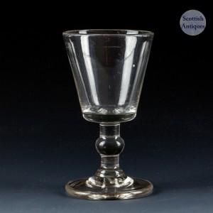 Bucket Bowl Dram Glass c1810