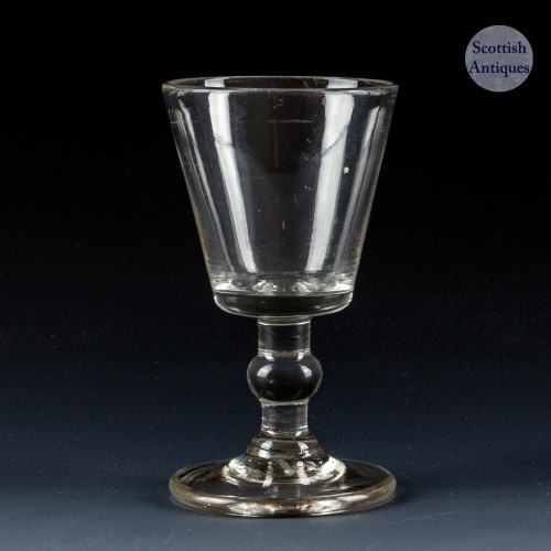 Bucket Bowl Dram Glass c1810
