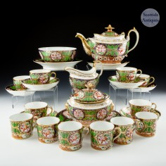 John Rose Coalport Tea Set c1815
