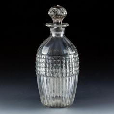 19th Century Pint Decanter c1820