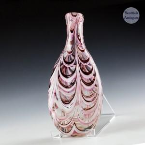 19th Century Enamelled Flask
