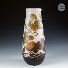 An Arsall Cameo Glass Vase c1930