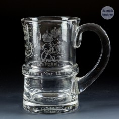Commemorative Half Pint Tankard for the Abdication of Edward VIII 1936