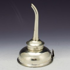 Sterling Silver Wine Funnel London 1788