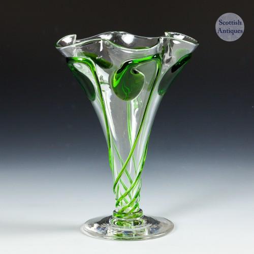 A Stuart & Sons Tadpole Vase for Liberty & Co c1910