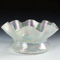 A John Walsh Walsh Pearlescent Glass Bowl c1900
