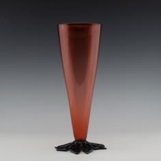 A Gillies  Jones Leaf Footed Vase 1996