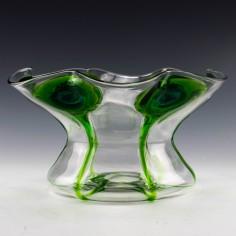Stuart Bi-Colour Peacock Vase for Liberty c1910