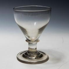 19th Century Engraved Rummer