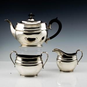 Sterling Silver Tea Service 1912