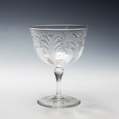 Rock Crystal Champagne Coupe c1910