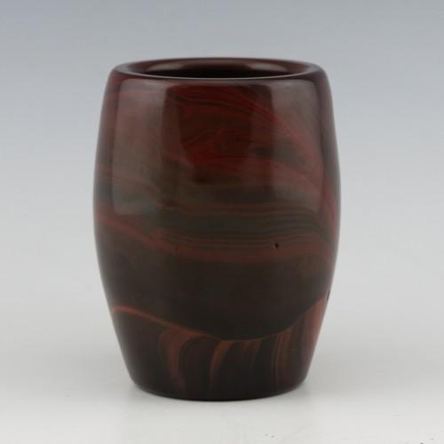 Egermann Lithyalin Glass Vase c1840