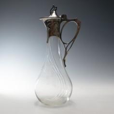 WMF Art Nouveau Claret Jug c1907