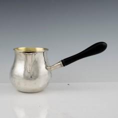 Sterling Silver Brandy Pan  London 1772