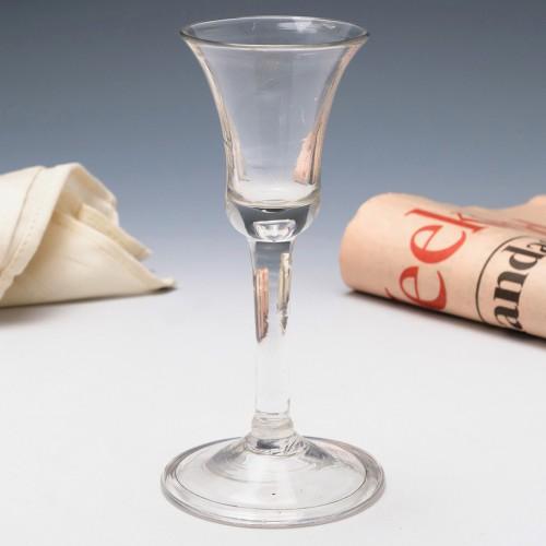 Georgian Bell Bowl Wine Glass c1750