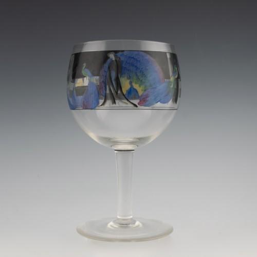 Vedar Art Deco Cocktail Glass  c1925