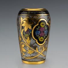 Julius Mühlhaus & Co. Glass Vase c1915