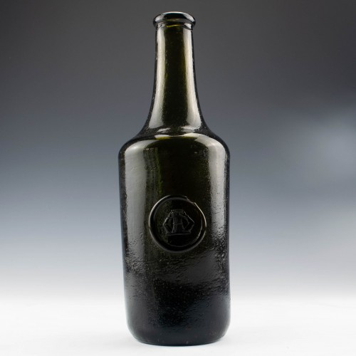 19th Century Sealed Wine Bottle c1815