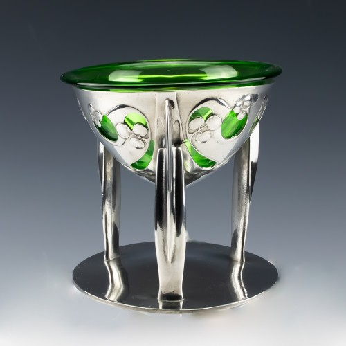 Tudric Pewter Bowl Designed by Archibald Knox c1903