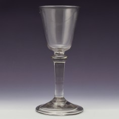 Balustroid Stem Wine Glass c1740